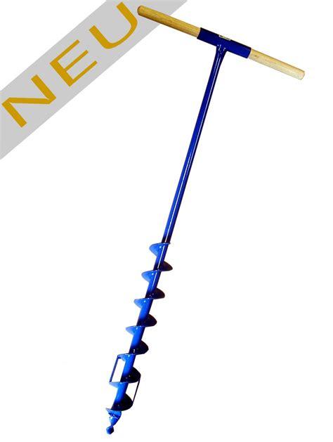 90mm to cm erdbohrer 90mm 9cm pulverbeschichtet blau