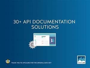 Ultimate guide to 30 api documentation solutions for Web documentation software