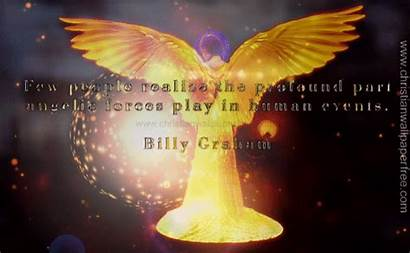 Graham Billy Angelic Forces Quote