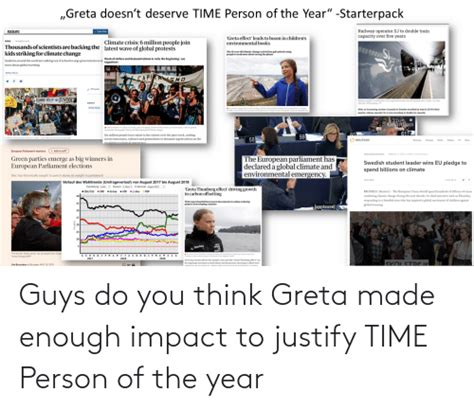 """Greta Doesn't Deserve TIME Person of the Year ..."