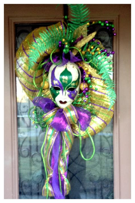 Mardi Gras Door Decoration New Orleans by Mardi Gras Door Decor Trey Marino S Florist Gifts