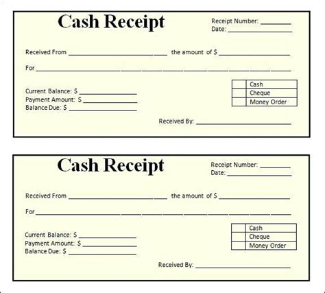 blank receipt forms download blank receipt form free printable receipts free receipt