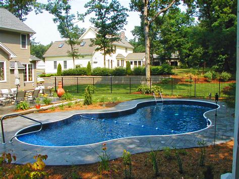 Swimming Pool : In-ground Swimming Pool Design & Installation