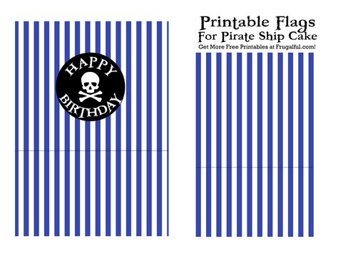 Why Are Boat Flags Red by Free Printable Birthday Cake Pirate Flags For Your Pirate