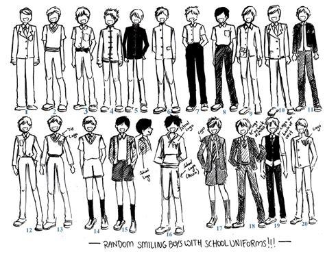 Boys uniforms 01 by NeonGenesisEVARei on DeviantArt