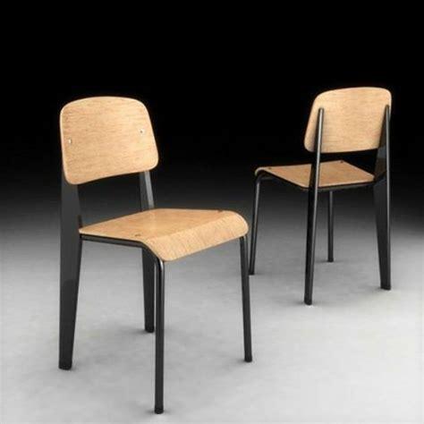 chaise de jean prouvé chaises design de 1934 de jean prouvé pour restaurant