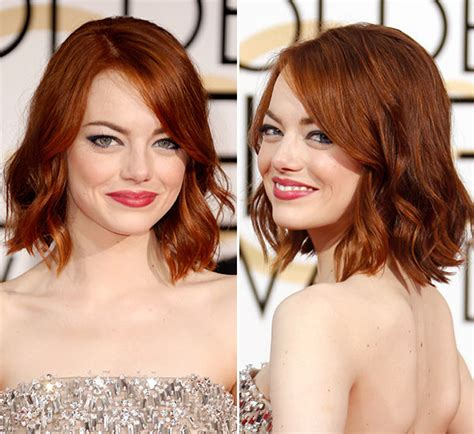 [pics] Emma Stone's Golden Globe Awards Look