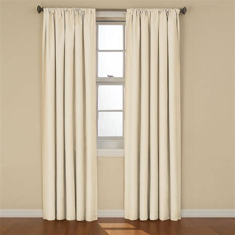 Sears Eclipse Blackout Curtains by Eclipse Curtains Kendall Blackout Window Curtain Panel