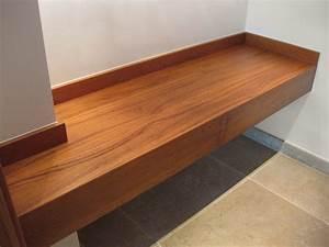 Console Salle De Bain : paul blanc menuiserie nos r alisations de meubles ~ Preciouscoupons.com Idées de Décoration