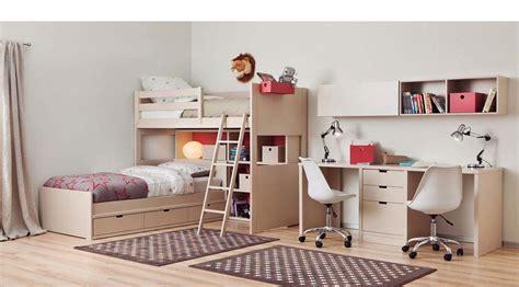 magasin de canapé lit mezzanine enfant avec bureau et rangement