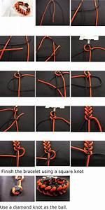 Markwell U0026 39 S Paracord Corner  Piranha Knot Paracord Bracelet