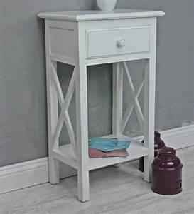 Telefontisch Weiß Hochglanz : telefontisch antik wei holz beistelltisch ~ Markanthonyermac.com Haus und Dekorationen