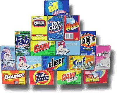 61587 Washing Powder Coupons laundry detergent coupons