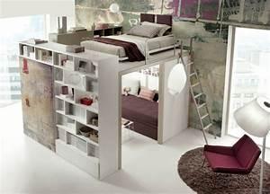 Teenager Mädchen Zimmer : hochbett im teenager zimmer moderne einrichtungsideen von tumidei ~ Sanjose-hotels-ca.com Haus und Dekorationen