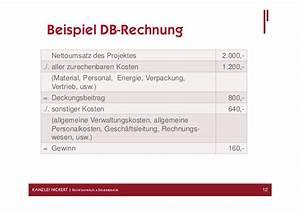 Deckungsbeiträge Berechnen : pr sentation zum 5 baufr hst ck ~ Themetempest.com Abrechnung
