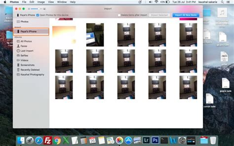 how to import photos from iphone to iphoto how to transfer photos from iphone to iphoto easily