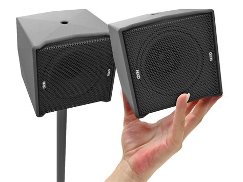 NEXO Introduces ID14 Cube Point Source Loudspeaker and ID ...