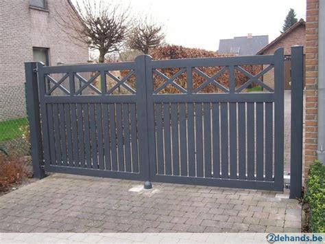 hekwerk poorten tuinpoorten te koop 2dehands be