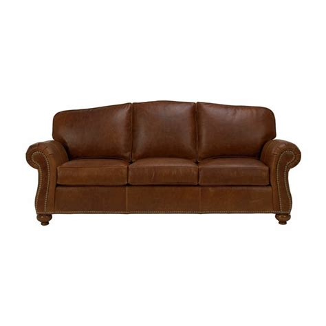 ethan allen sofa leather leather sofa ethan allen us living room