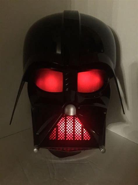 star wars darth vader helmet wall 3d deco light ebay