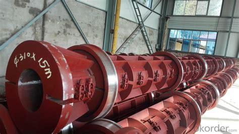 buy pre stress concrete electric pole mould  meters
