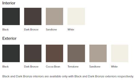 andersen window colors andersen 100 series windows smart windows colorado