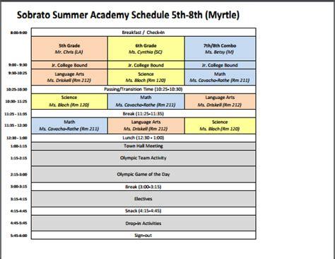 sle after school program registration form 89 sle summer c schedule template bunch ideas of