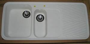 Weiße Granit Spüle : schock granit sp le einbausp le 112x50 cm weiss grau ~ Michelbontemps.com Haus und Dekorationen