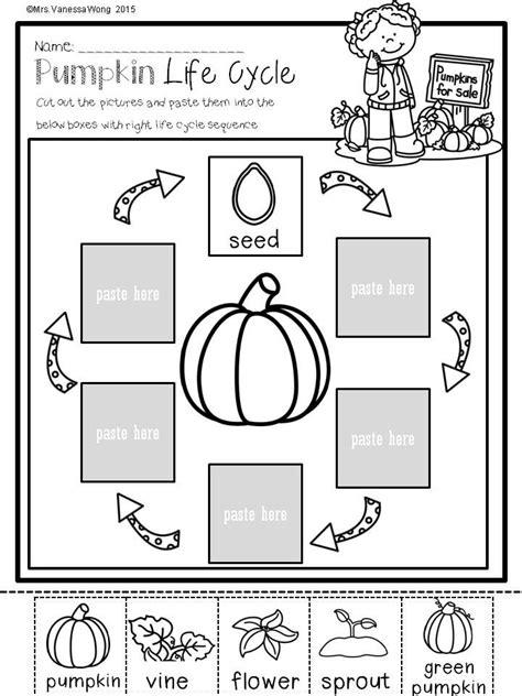 fall math and literacy no prep printables kindergarten