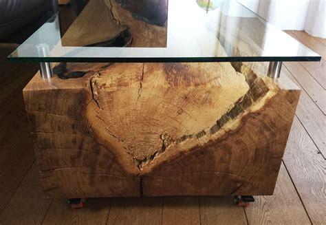 glasplatte tisch anfertigen kaminumrandung aus kirsche holzpur stelen de holzstelen als wohnidee eiche buche kirsche
