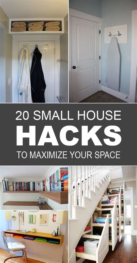 Decorating Ideas Small House by 20 Small House Hacks To Maximize Your Space Small Space