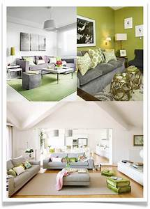 10 rooms color post green and grey for Green and grey living room
