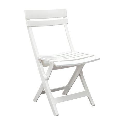 chaise pliante de jardin chaise de jardin miami pliante blanc 49036004 achat