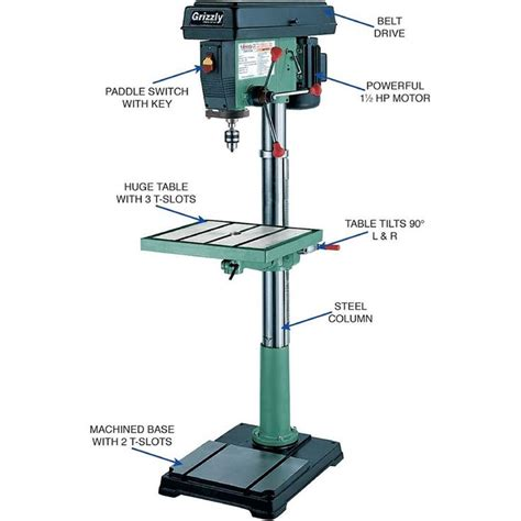 20 floor mounted drill press the 25 best ideas about grizzly drill press on