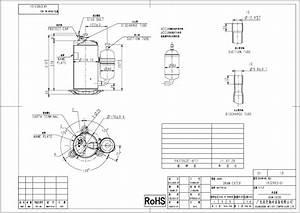 Compressor Hermetic Rotary Pa270g2c