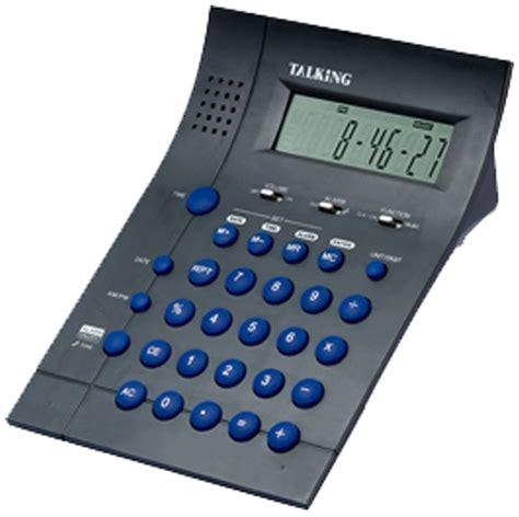 Blind Calculator by Talking Desk Calculator For The Blind Braille Superstore