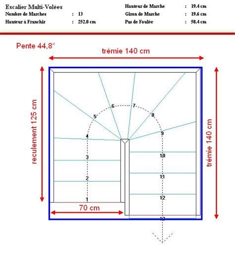 escalier 80 cm largeur maison design goflah