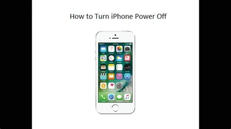 how to disable an iphone how to power switch turn iphone