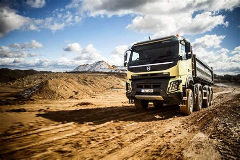volvo new new volvo fmx truck launched autoevolution