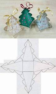 Gabarit Sapin De Noel A Decouper : diy gabarit de boite en forme d 39 arbre de noel ~ Melissatoandfro.com Idées de Décoration