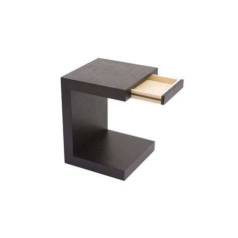 etagere de bureau table de nuit design wilton en bois