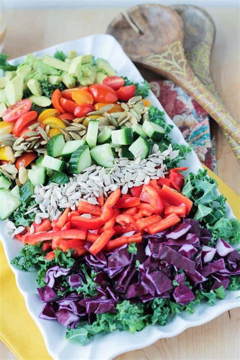 cucumber chickpea salad  tahini dressing veggie inspired