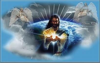 Jesus Salvador Jezus Wielkanoc Angels Mensagem Mundo