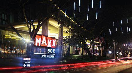 jadwal film  harga tiket bioskop cinepolis maxxbox lippo village tangerang hari