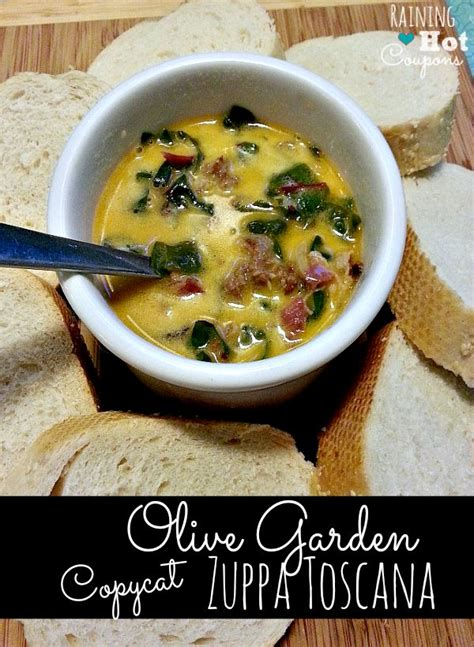 olive garden copy cat zuppa toscana recipe gardens