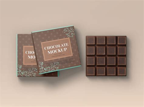 Consists of two psd files with 2000×1300 for the dimensions, this could be useful for your packaging design project. Free Chocolate Bar Packaging Mockup PSD Set - Good Mockups