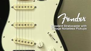 Fender Standard Stratocaster With Vintage Noiseless Pickup