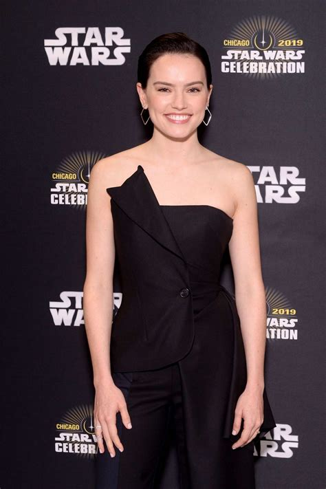 Daisy Ridley attends Star Wars Celebration: 'The Rise of ...
