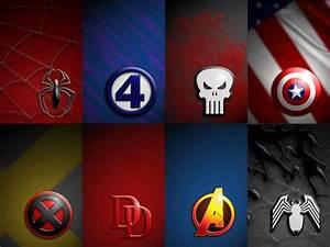 Superheroes Logos Wallpapers - Wallpaper Cave