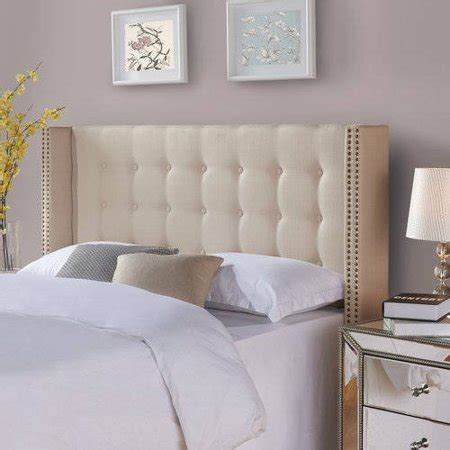 262 tufted wingback bed better homes and gardens wingback tufted upholstered